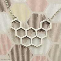 DIY Collier nid d'abeille