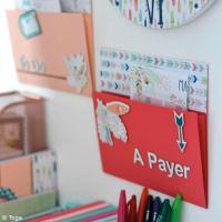 DIY Work Space : Porte-documents Plumes