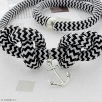 DIY Bijou : Collier ancre en corde