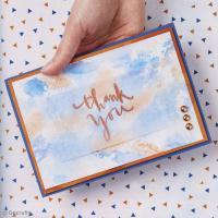 DIY Scrap : Carte de remerciement Thank you