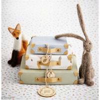 DIY Déco : Mini valises en papier couleurs prémices de l'automne