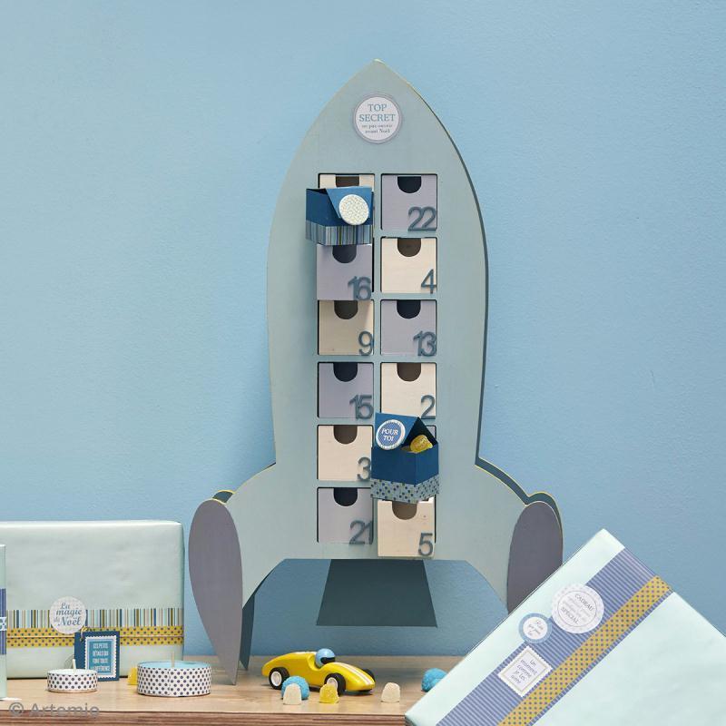 bricolage no l calendrier de l 39 avent fus e id es et. Black Bedroom Furniture Sets. Home Design Ideas