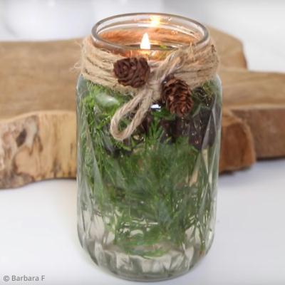 Diy d co facile r aliser une bougie tendance avec un bocal mason jar vid o - Creation facile a realiser ...