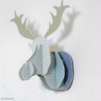 DIY Déco : Trophée tête de renne en 3D