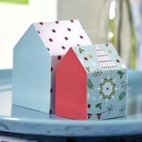 Déco de Noël facile : Maisons décoratives