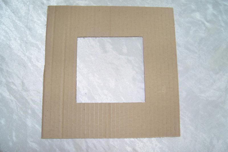 cadre photo en carton r aliser avec les enfants id es et conseils home d co cadre tableau. Black Bedroom Furniture Sets. Home Design Ideas