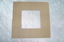 Fabriquer un cadre photo en carton