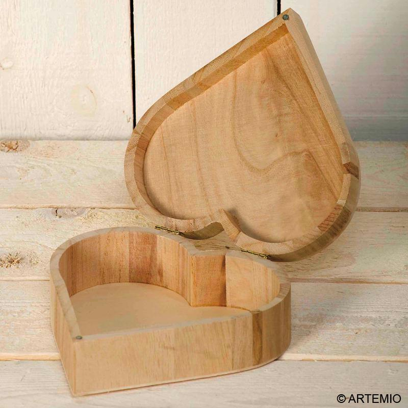 Décoration de boite en bois : préparation du suport
