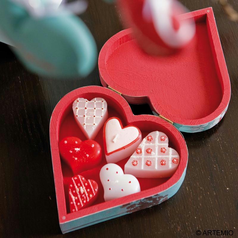 Boite cadeau sp ciale saint valentin id es et conseils for Cadeau decoration interieur