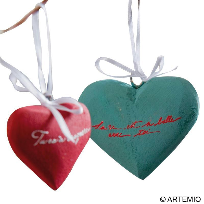 D coration romantique coeur de saint valentin id es et for Decoration romantique