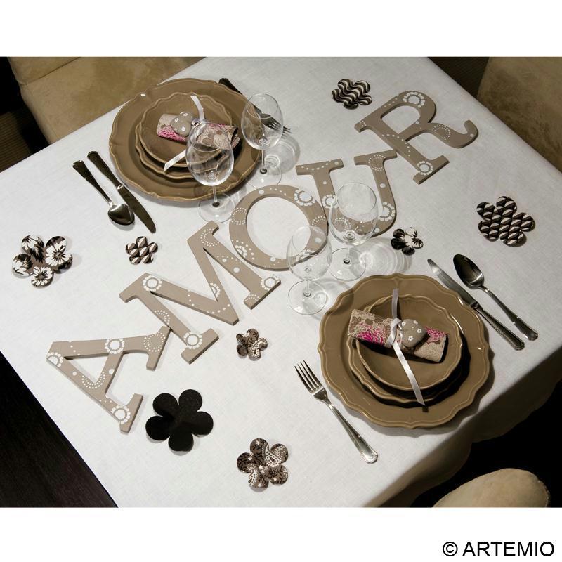 D co de table saint valentin id es et conseils d coration - Deco de table st valentin ...