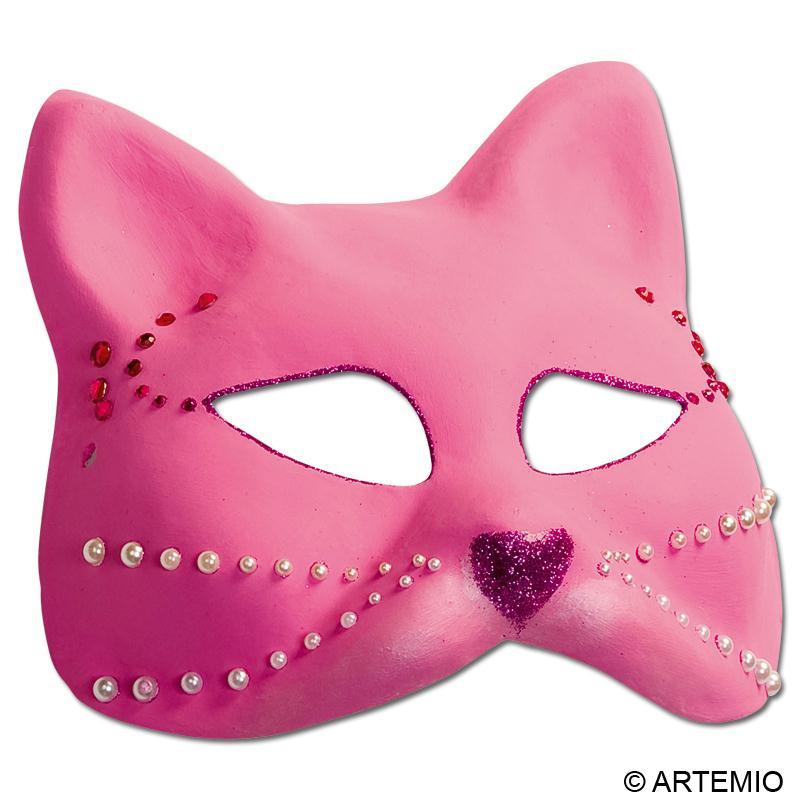 D guisement masque chat rose strass id es et conseils masque et d guisement - Deguisement ado a faire soi meme ...
