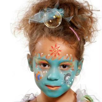 Maquillage grim 39 tout 12 crayons assortis sans paraben kit maquillage enfant creavea - Modele maquillage princesse ...