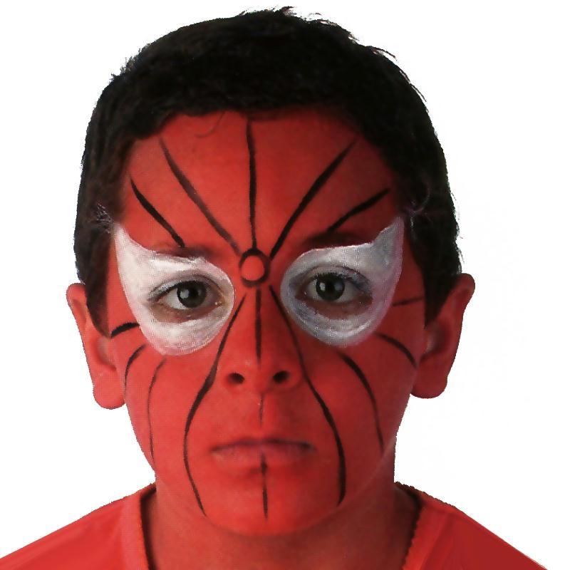 Maquillage spiderman id es et conseils maquillage - Maquillage araignee facile ...