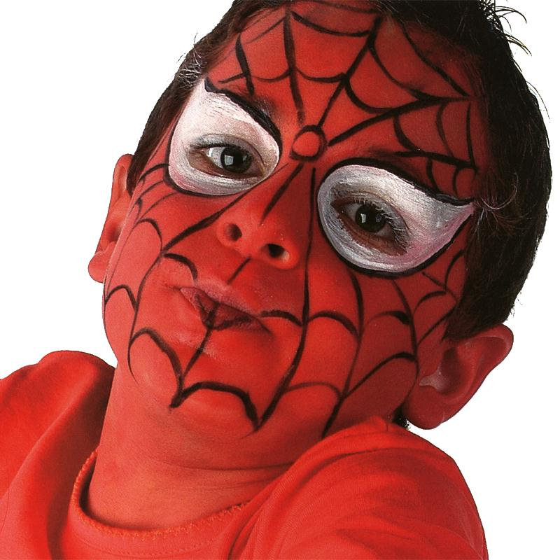 maquillage spiderman id es et conseils maquillage. Black Bedroom Furniture Sets. Home Design Ideas