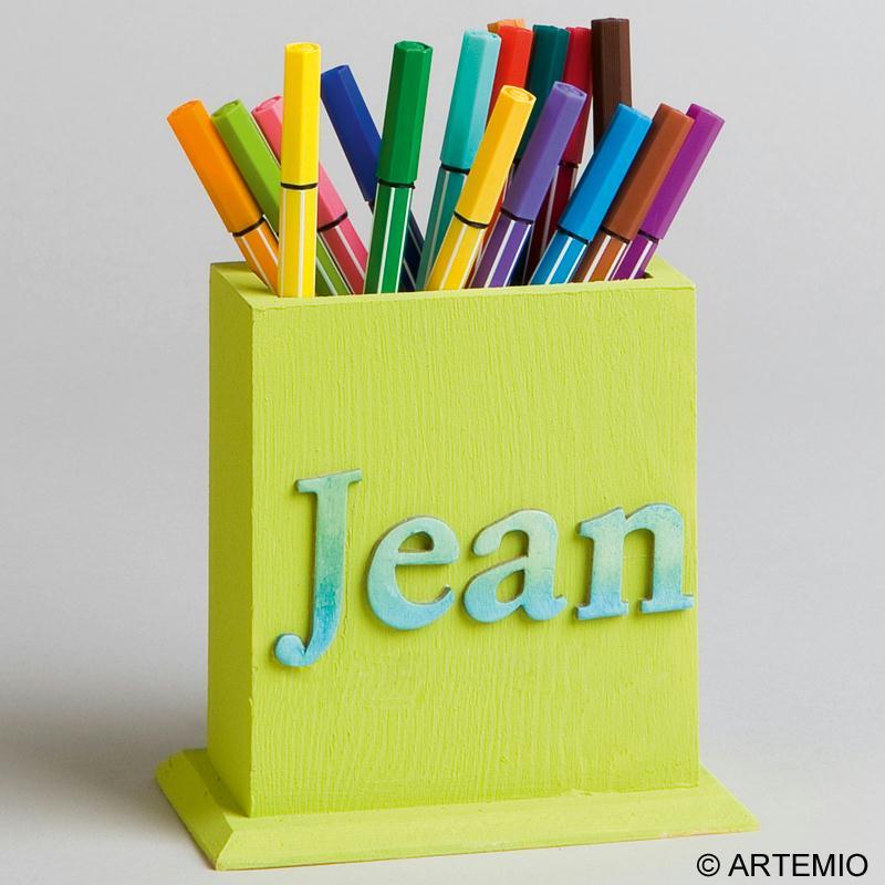 Customiser des potsà crayons en bois pour la f u00eate des p u00e8res Idées et conseils F u00eate des p u00e # Pot A Crayon En Bois