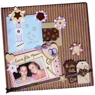 Le cuir s'invite à vos pages de scrapbooking !