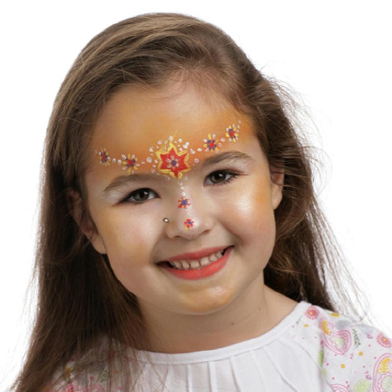 Maquillage fleur facile - Maquillage visage enfant ...