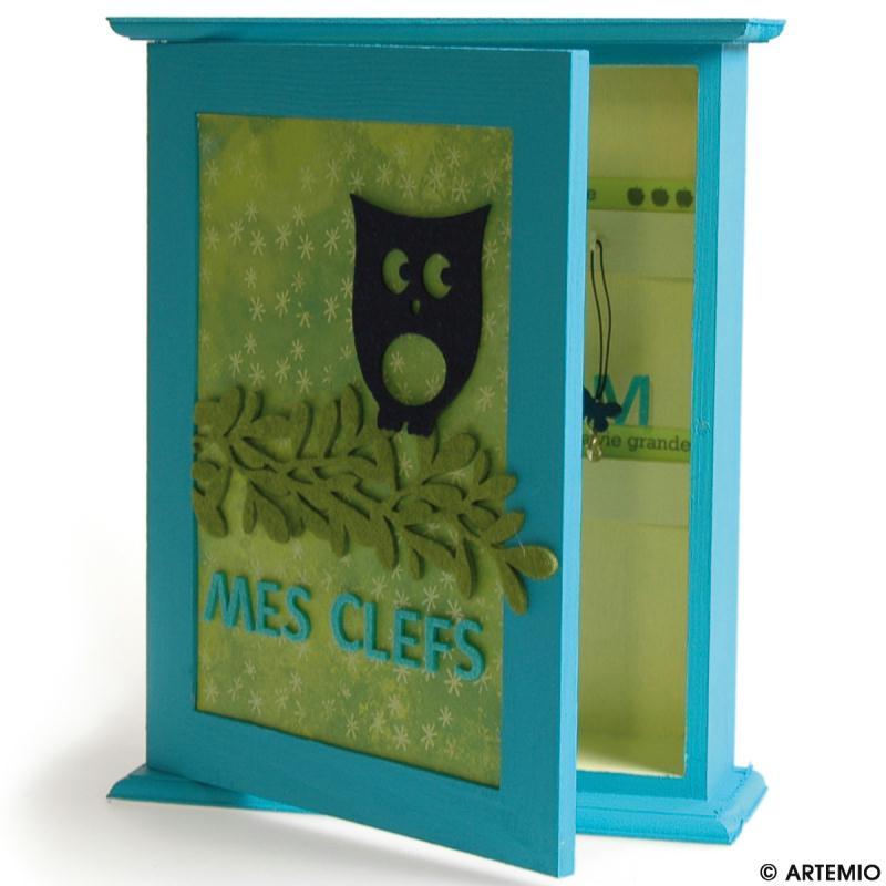 horloge et bo te cl s pour une maison organis e id es et conseils home d co cadre tableau. Black Bedroom Furniture Sets. Home Design Ideas