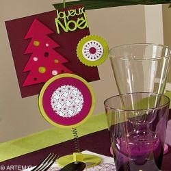 5. Carte de voeux décorative