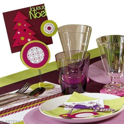Une table de Noël 2013 à la décoration tendance