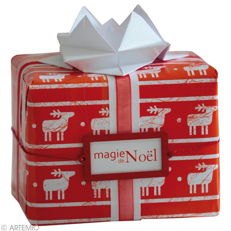 R aliser un paquet cadeau original pour no l id es et - Faire paquet cadeau original ...