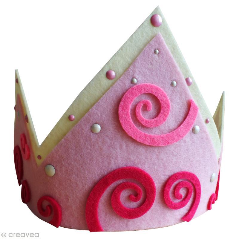 fabriquer une couronne des rois r glable en feutrine id es et conseils feutrine. Black Bedroom Furniture Sets. Home Design Ideas