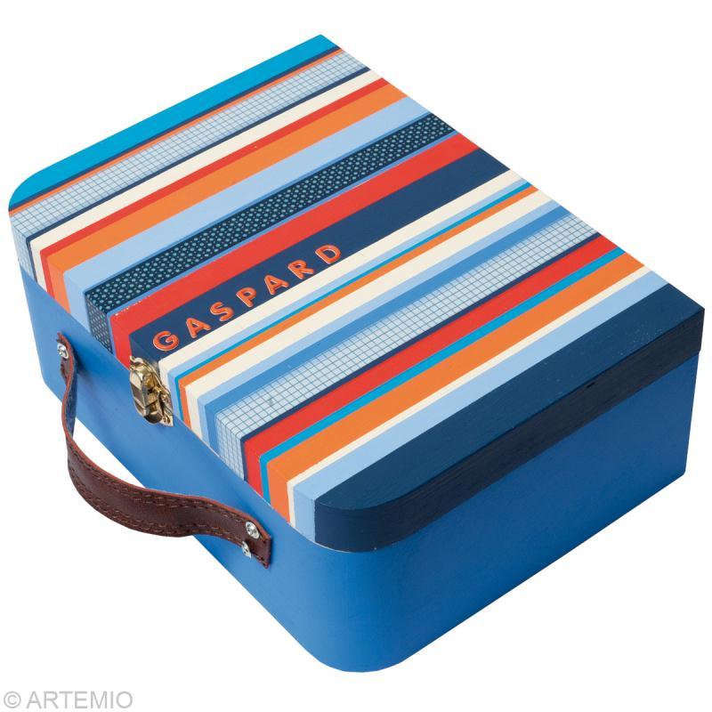 d corer une valise en bois pour la maternelle id es et conseils activit manuelle enfant. Black Bedroom Furniture Sets. Home Design Ideas