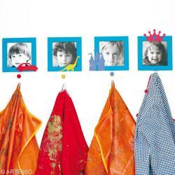 2. Peinture du porte manteau des maternelles