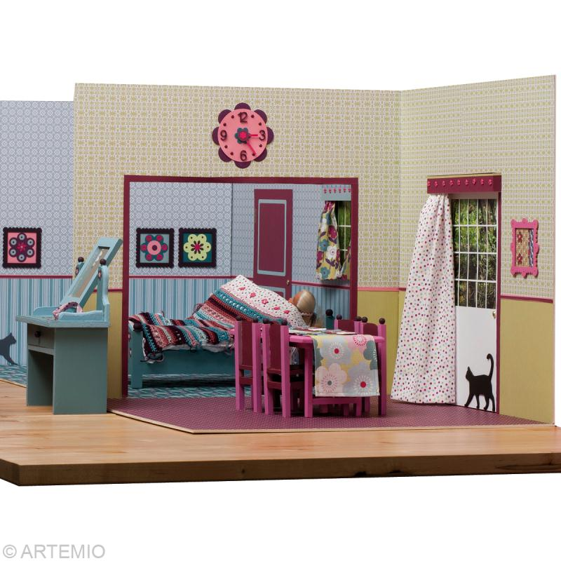 d corer une maison de poup e barbie id es et conseils couture. Black Bedroom Furniture Sets. Home Design Ideas