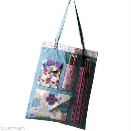 Faire un sac en tissu pour les loisirs créatifs