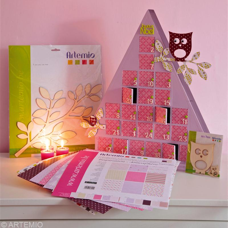 fabriquer calendrier de l 39 avent id es et conseils. Black Bedroom Furniture Sets. Home Design Ideas