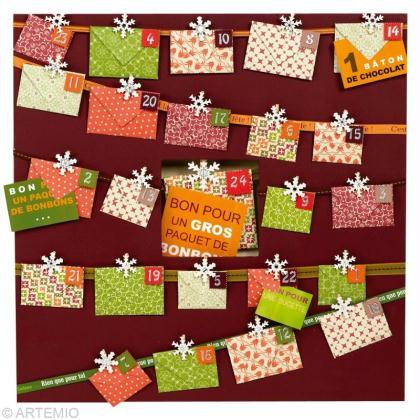 Réaliser un calendrier de l'avent 2012