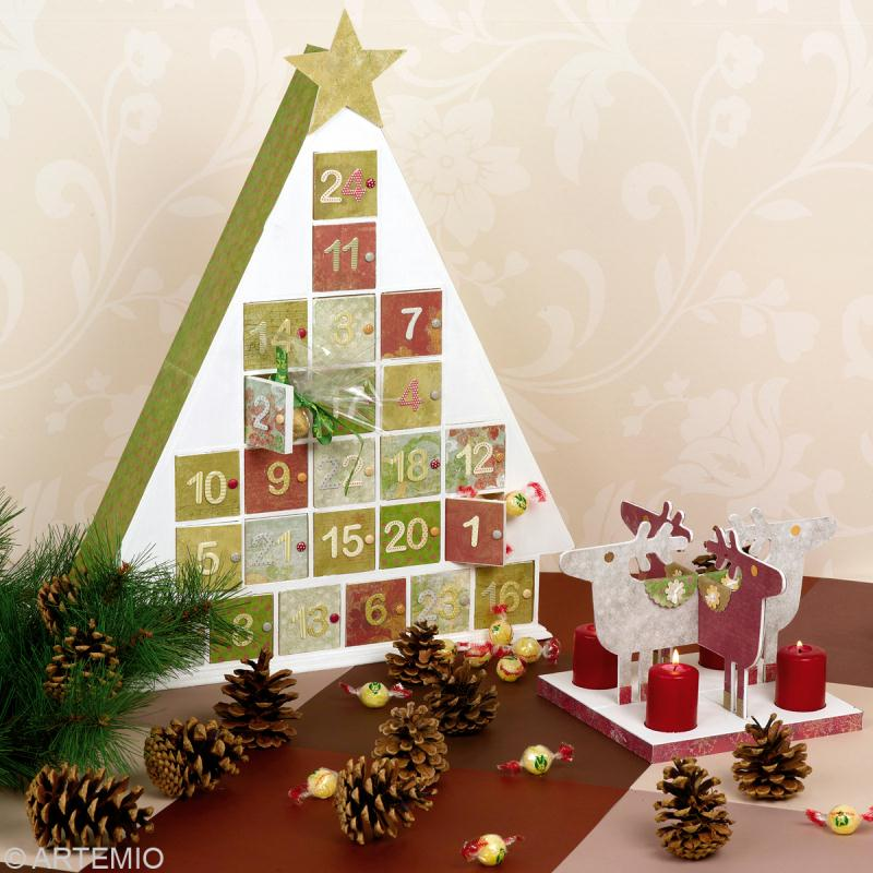 calendrier de l 39 avent traditionnel sapin id es et conseils calendrier de l 39 avent. Black Bedroom Furniture Sets. Home Design Ideas