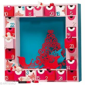 DIY Noël : Couronne de porte en fil alu et perles Calendrier de l ...