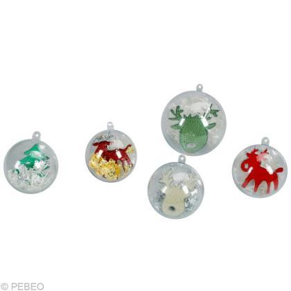Boule de Noël à fabriquer