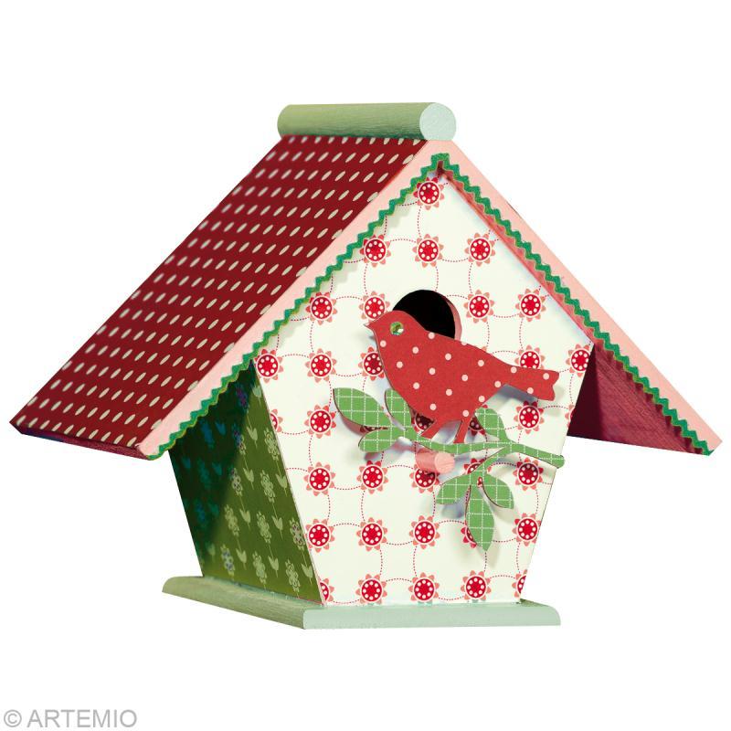 D corer un nichoir pour no l 2012 id es et conseils no l - Choses savoir sur lutilisation des couleurs en decoration ...