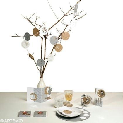 Déco de table de Noël tendance : zen 2013