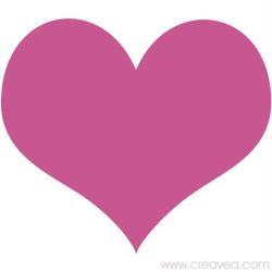 1. Gabarit de coeur
