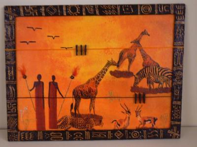 cadre africain cr ation home d co et miroir de matealambern n 10 556 vue 6 264 fois. Black Bedroom Furniture Sets. Home Design Ideas