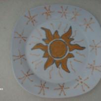 Le soleil de l'assiette