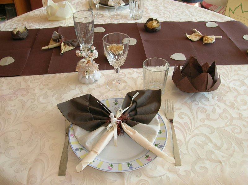 deco table mariage cot femme cr ations techniques diverses de tilou76 n 16980 vue 45704 fois. Black Bedroom Furniture Sets. Home Design Ideas