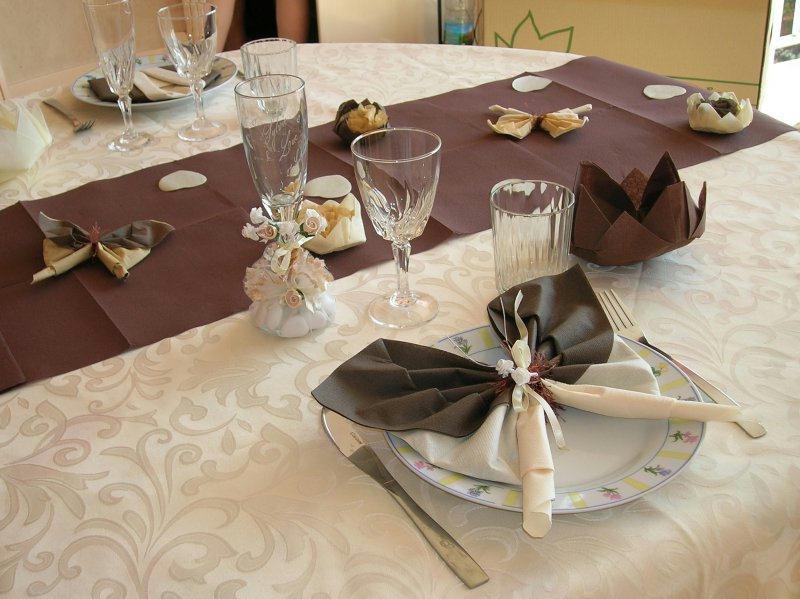 deco mariage appercu de notre table cr ations techniques diverses de tilou76 n 16982 vue. Black Bedroom Furniture Sets. Home Design Ideas
