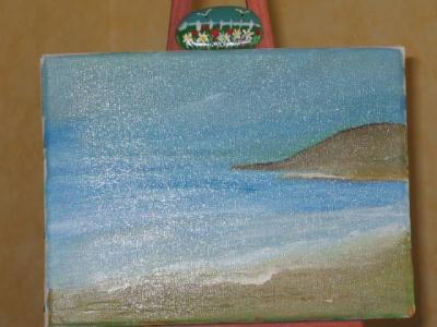 paysage de mer galet cr ation beaux arts peinture de suckie n 17 031 vue 2 097 fois. Black Bedroom Furniture Sets. Home Design Ideas
