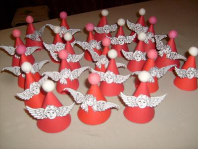 Anges de noel cr ation d coration de f tes de nadette n - Creation decoration de noel ...
