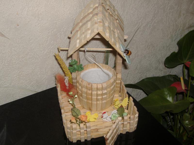 Mon jardin cr ations cr ation en pinces linge de kekelettte n 24251 vue 9678 fois - Pince a linge en bois creation ...