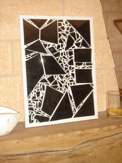 miroir bris cr ation mosa que de fab4556 n 26 565 vue 9 805 fois. Black Bedroom Furniture Sets. Home Design Ideas
