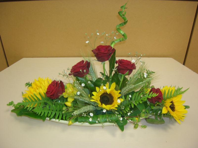 centre de table cr ations art floral de orchidee35 n. Black Bedroom Furniture Sets. Home Design Ideas