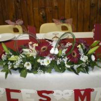 Bouquet table d'honneur