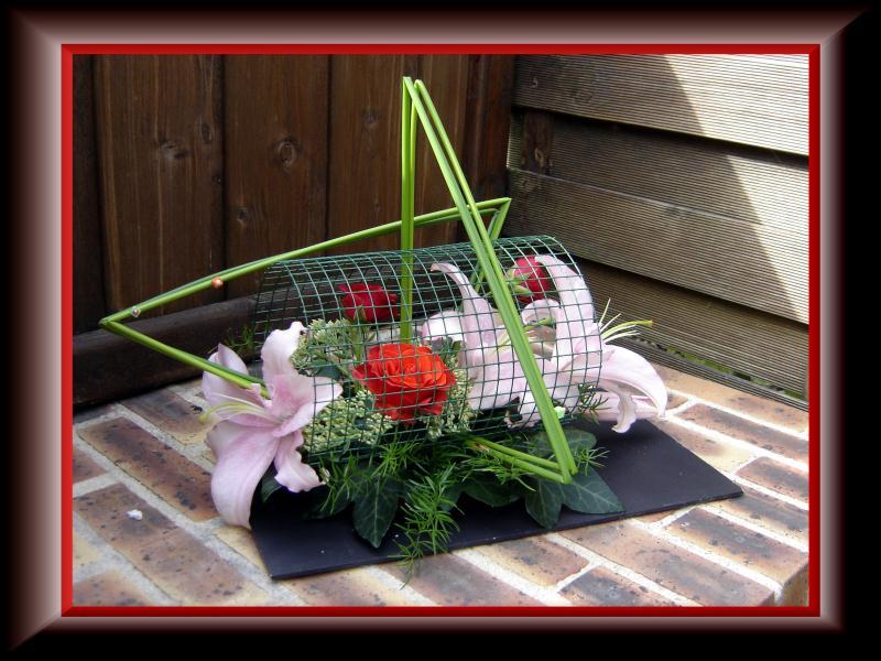 Lys du jardin cr ations art floral de anniegau35 n 28067 for Art jardin creation